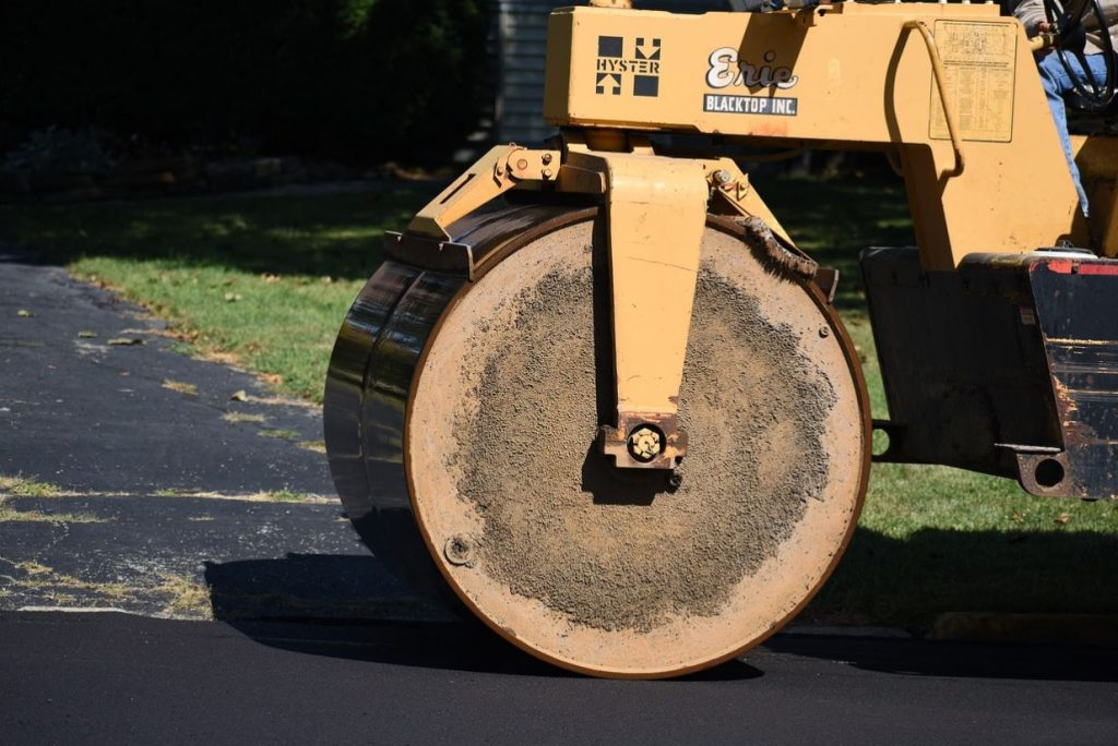 pavement roller